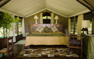 Little Governors' Camp - Tent Interior